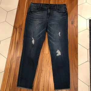 d1c39e10641 ... 1822 Distressed Skinny Ankle Jean ...